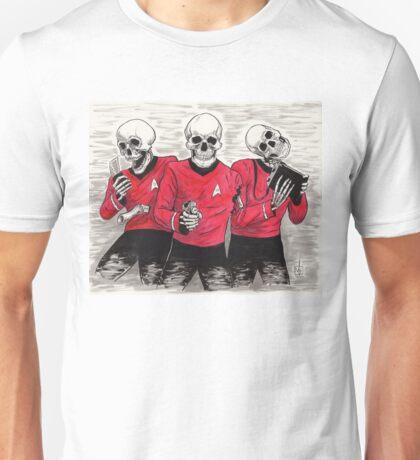 Three Red Shirteers Unisex T-Shirt
