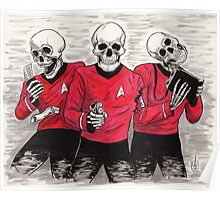 Three Red Shirteers Poster
