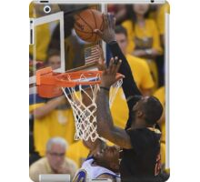 LeBron James Game 7 versus Curry iPad Case/Skin