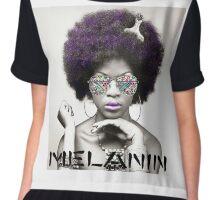 Melanin Tribal Graphic T-Shirt Chiffon Top