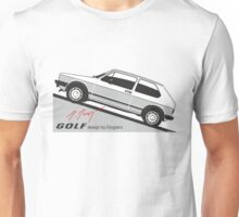 VW Golf by Giugiaro Unisex T-Shirt