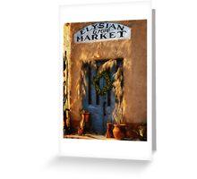 Elysian Grove Market, Tucson, Arizona Greeting Card