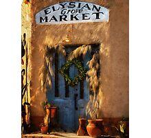 Elysian Grove Market, Tucson, Arizona Photographic Print