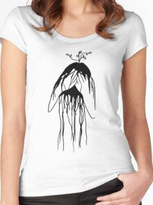 GROWING Women's Fitted Scoop T-Shirt