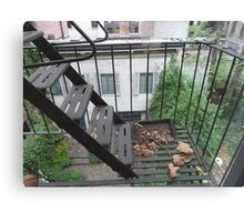 New York Apartment View Canvas Print