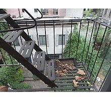 New York Apartment View Photographic Print