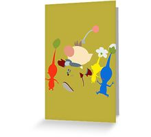 Captain Olimar Greeting Card