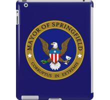SIMPSONS MAYOR SPRINGFIELD iPad Case/Skin