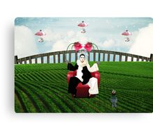 Reality Is A Lovely Place...but I wouldn't want to live there Canvas Print