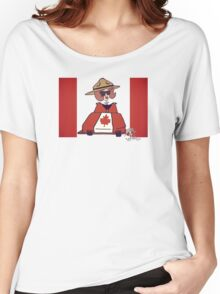 Wildago's Pearl on Canada Day Women's Relaxed Fit T-Shirt
