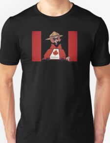 Wildago's Pearl on Canada Day Unisex T-Shirt