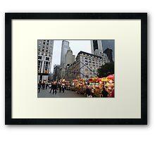 Love New York Framed Print