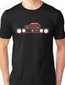 VW Golf GTI mark 1 red Unisex T-Shirt