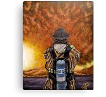When Hell comes to visit Canvas Print