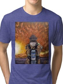 When Hell comes to visit Tri-blend T-Shirt