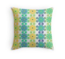 Winsome Wildflowers Throw Pillow