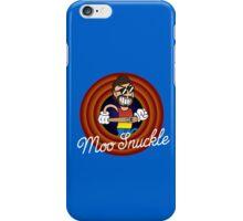 Moo Snuckle 1930's Cartoon Character iPhone Case/Skin