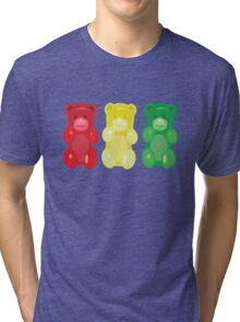 Gummy Bears, stop, set, go! Tri-blend T-Shirt