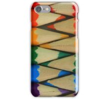 Colored Pencil Patterns iPhone Case/Skin