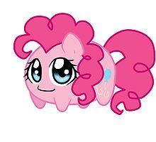Potato chibi: Pinkie Pie by linamomokoart