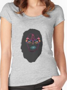 nature faced Women's Fitted Scoop T-Shirt