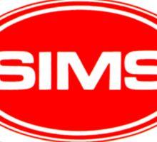 Sims skateboards Sticker