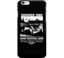 Camp Crystal Lake Summer 1980 iPhone Case/Skin