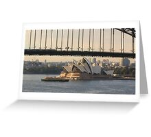 The Manly ferry Greeting Card