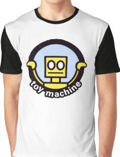 Toy Machine Robot Face Graphic T-Shirt