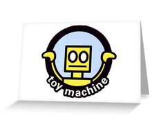 Toy Machine Robot Face Greeting Card