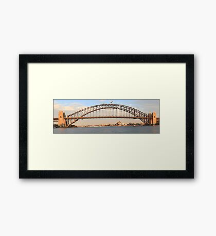 Sydney's Icons at day break Framed Print