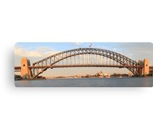 Sydney's Icons at day break Canvas Print