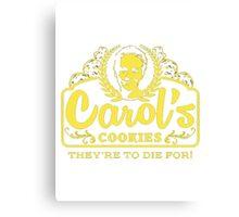 Carol's Cookies Canvas Print