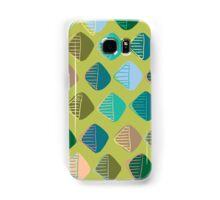 green diamonds Samsung Galaxy Case/Skin