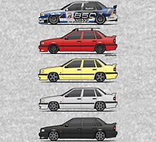Stack of Volvo 850R 854R T5 Turbo Saloon Sedans Unisex T-Shirt