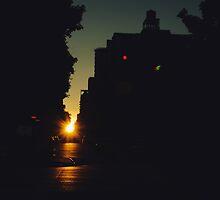 Manhattan Henge by Ella McDonald