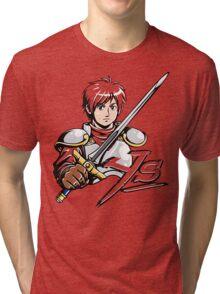 Ys - Adol (Red) Tri-blend T-Shirt