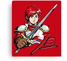 Ys - Adol (Red) Canvas Print