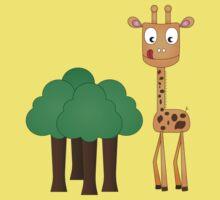 Hungry Giraffe Baby Tee