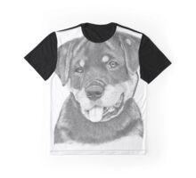 Rottweiler Puppy-Chloe Graphic T-Shirt