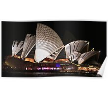 Sydney and the Vivid Festival Poster