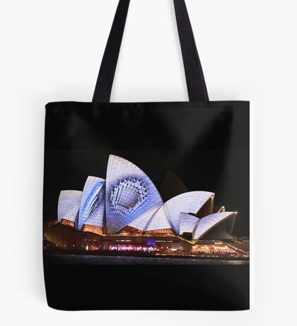 Sydney and the Vivid Festival Tote Bag