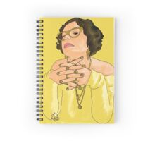Golden Greed Spiral Notebook
