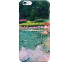 Victoria Gardens at EPCOT iPhone Case/Skin