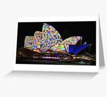 Sydney and the Vivid Festival Greeting Card
