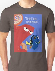 Dory and Hank - Finding Dory Unisex T-Shirt
