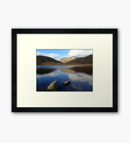 Blea Tarn, Lake District National Park, UK Framed Print