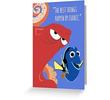 Dory and Hank - Finding Dory Greeting Card