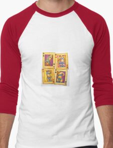 Playing with Lust Men's Baseball ¾ T-Shirt