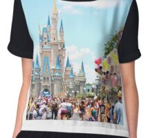 Main Street USA Chiffon Top